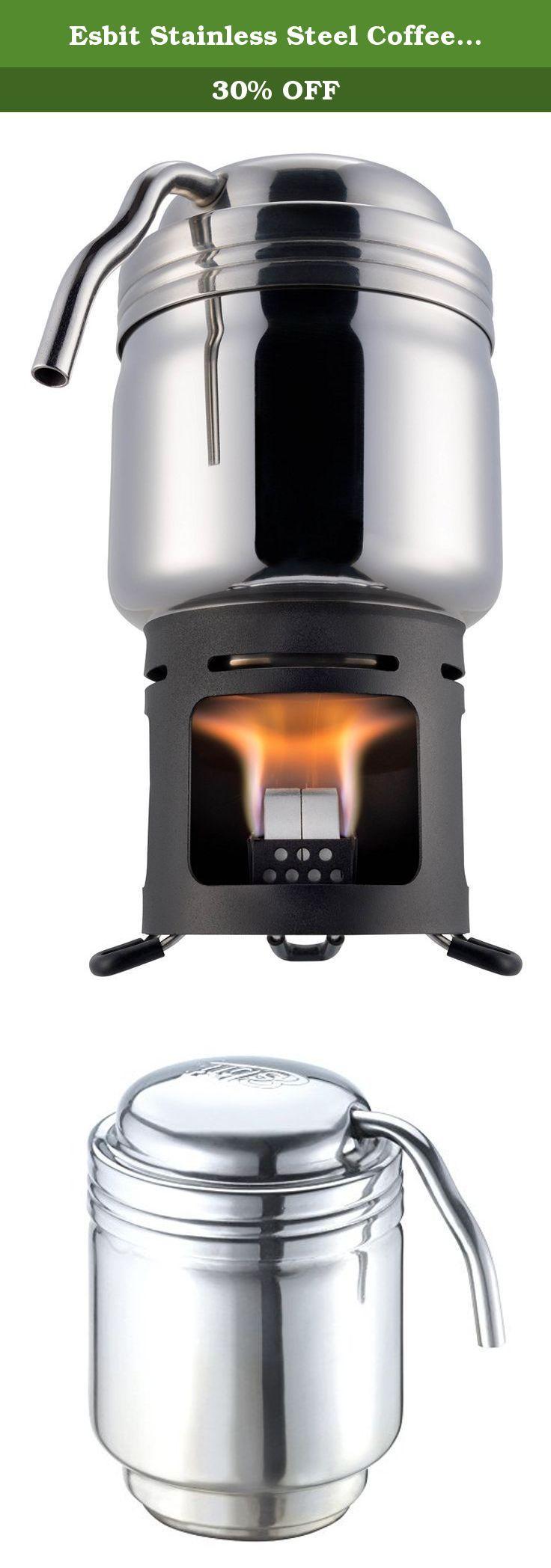Esbit Coffee Maker Reviews : 1000+ ideas about Stainless Steel Coffee Maker on Pinterest Coffee maker reviews, Mr coffee ...