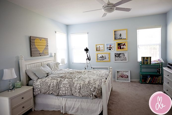 : Paintings Colors, Colors Theme, Spare Room, Paint Colors, Yellow Accent