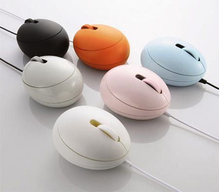 """Egg Computer Mouse"" cute, would make the easter bunny proud"