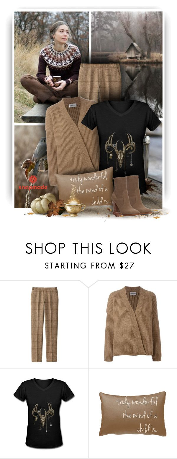 """""""Autumn Day - Snapmade"""" by christiana40 ❤ liked on Polyvore featuring Uniqlo, LAURENCE BRAS and ALDO"""