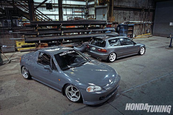 Honda Del Sol & Honda Civic eg hatchback