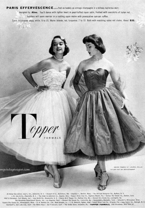 Paris Effervescence 1950s advert
