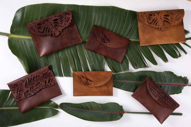 Ilundi leather clutches - genuine leather - ILUNDI