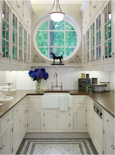 It is a butler's pantry, but it could be my kitchen.