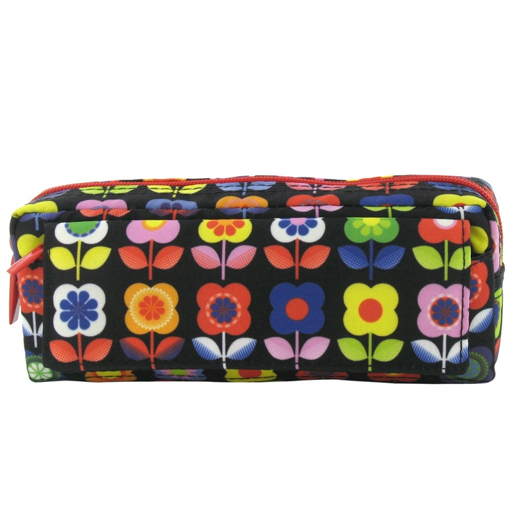 floral oversized multi pencil case from Paperchase