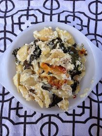 Chicken and Kale Casserole: trying to fit kale more into my diet