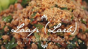 Larb/Laap Minced Meat Salad Tutorial