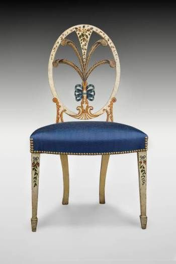 Painted Side Chair. c. 1795,