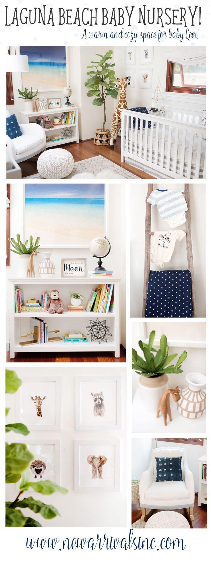 Celebrity Nurseries | Laguna Beach Alex Murrel's room for Baby Levi!