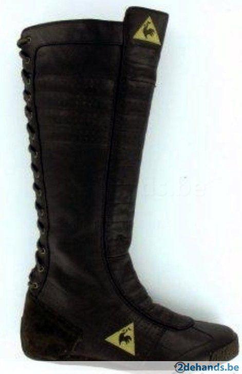 Bruine laarzen van le coq sportif - Maat 41