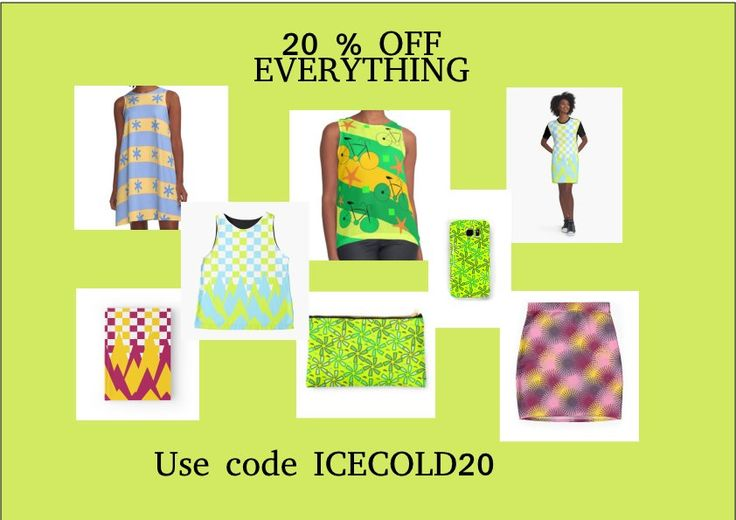 #Promo: 20% off everything #redbubble #fashion #promotion #clothing #cases http://www.redbubble.com/people/cocodes/shop