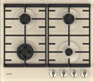 Plynová varná deska gorenje z designové řady Infinity. Model: GTW6INI