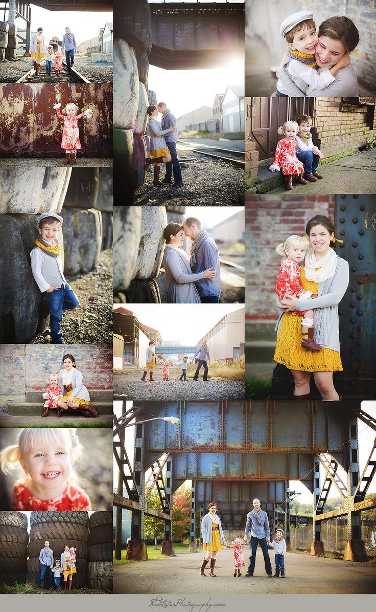 Urban family photo shoot