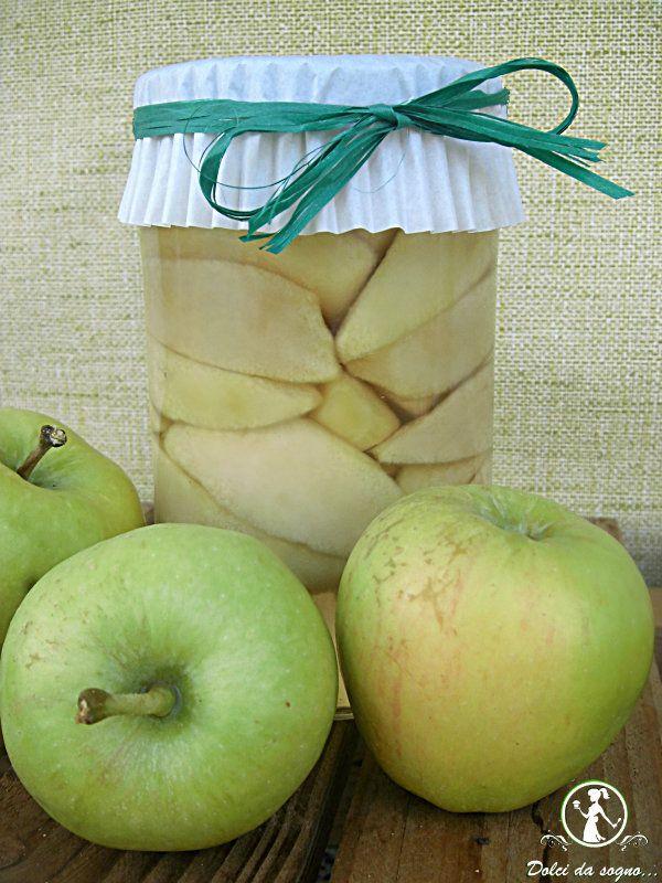 mele sciroppate