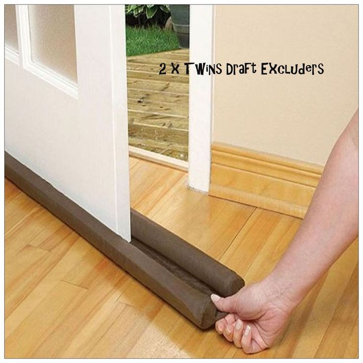 Door Draft Excluder Energy Saving & Window Insulator 2 X Draft Cold Excluder  #DoorDraftExcluder