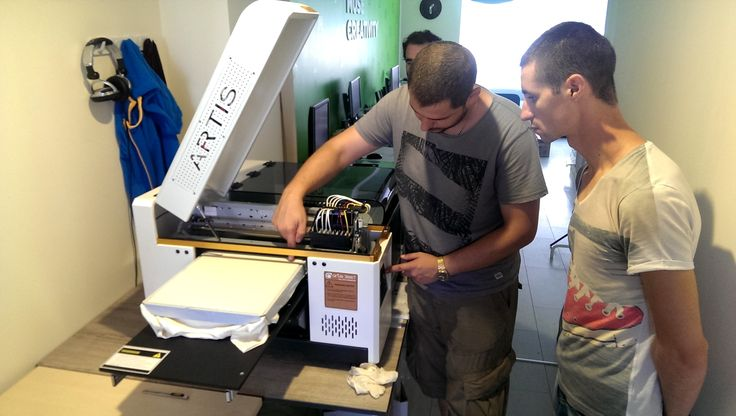 """""""We choose artis 3000T DTG printer. The machine is amazing to print our designs on T-shirts, many customers love our T-shirts. We will do mostly vintage design T-shirts and when the weather becomes cool, we will print long sleeve T-shirts. """" - Mario Ivanov, Muse Creativity, Bulgaria"""
