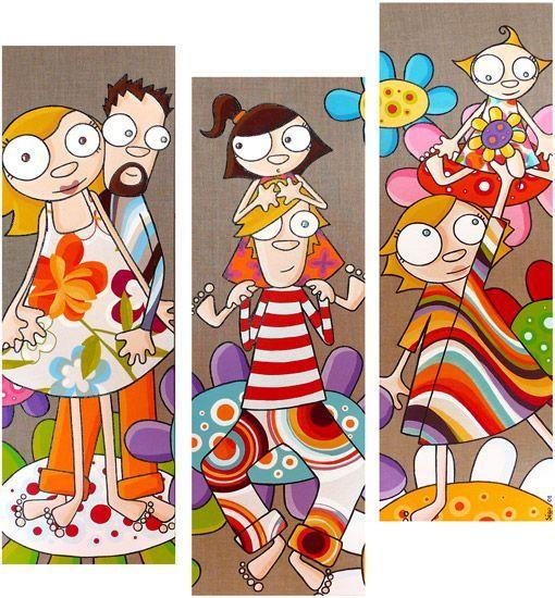 Pin de alejandra tortonese en cosas para ni os cuadro - Dibujos infantiles originales ...