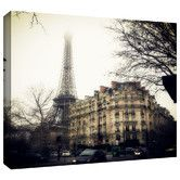 Found it at Wayfair - Paris' by Revolver Ocelot Photographic Print Gallery-Wrapped on Canvas