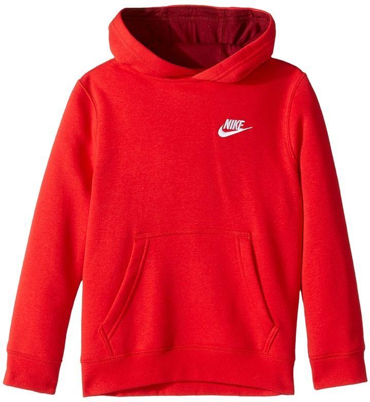 Nike Sportswear Pullover Hoodie Boy's Sweatshirt