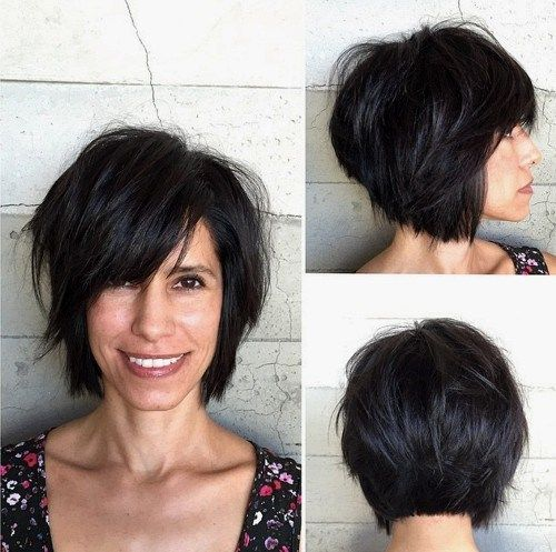 - pinned cuz we have a similar look. choppy bob haircut