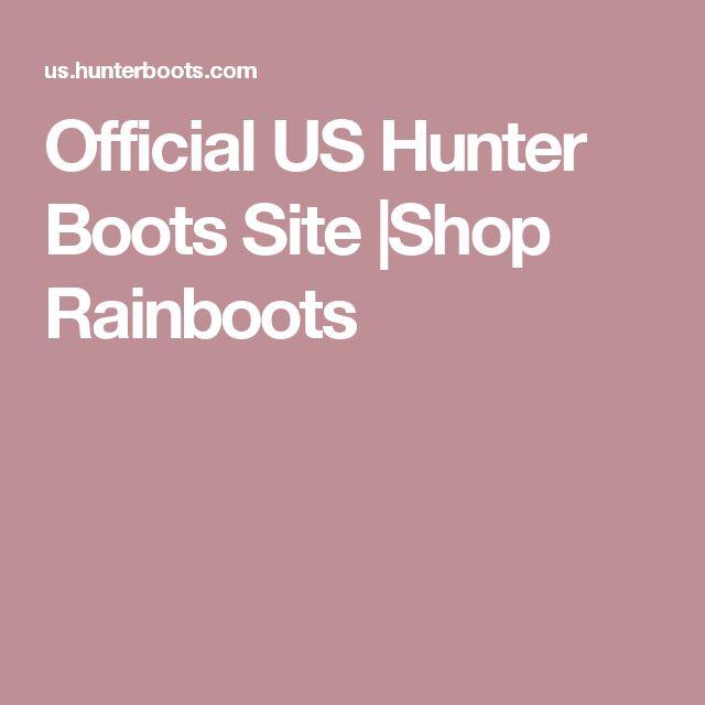 Official US Hunter Boots Site  Shop Rainboots