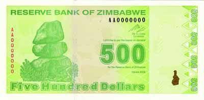 Zimbabwean Dollar