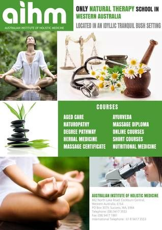 Natural therapy courses Australia
