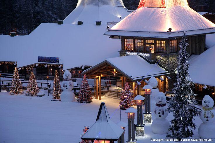 Photo Of Santas Village In The North Pole Santa Claus