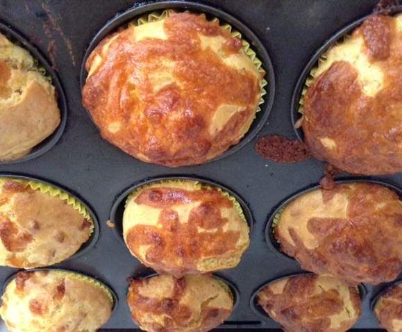 Recipe Hidden Veg Pumpkin and Cheese Muffins by clairestm5 - Recipe of category Baking - savoury