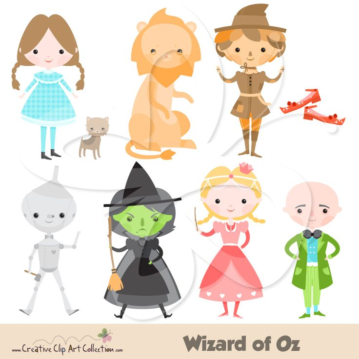 Wizard of Oz clipart is essential to any decent fairytale ...