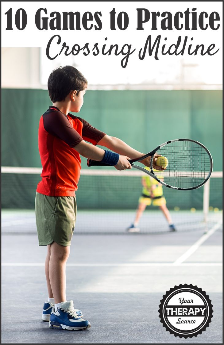 10 Games to Play to Practice Crossing Midline - Encourage children to practice coordination skills while moving across the midline of the body.