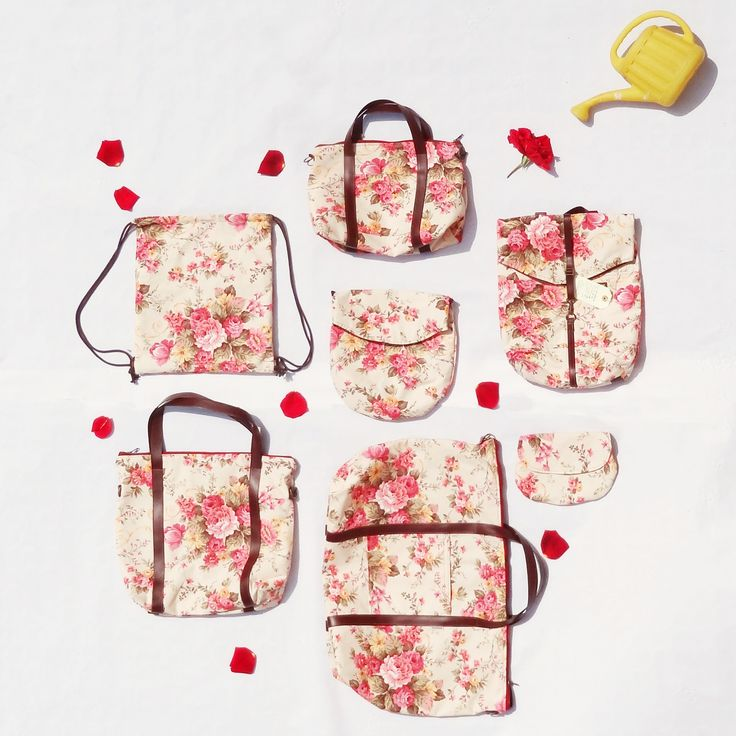 Floral bags from Numon
