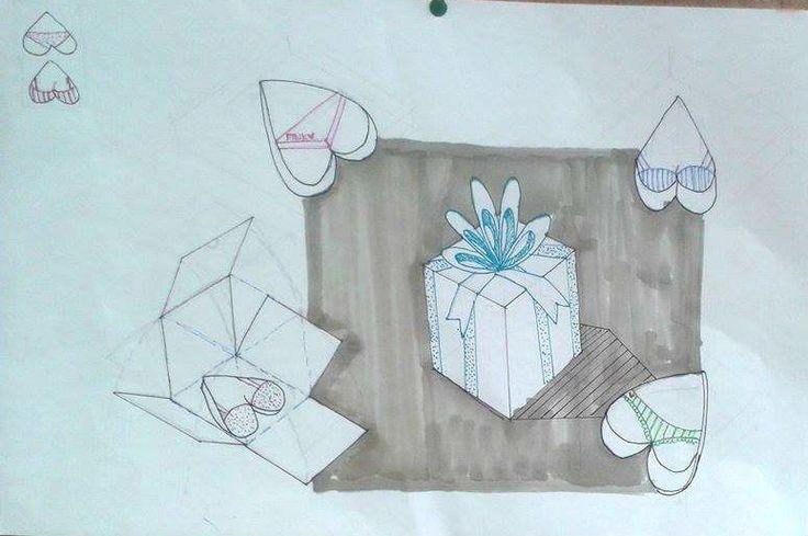 TRABAJO FINAL- TEMA DESPEDIDA DE SOLTER@S -Producto 3 galletas decoradas con ropa interior de mujerer