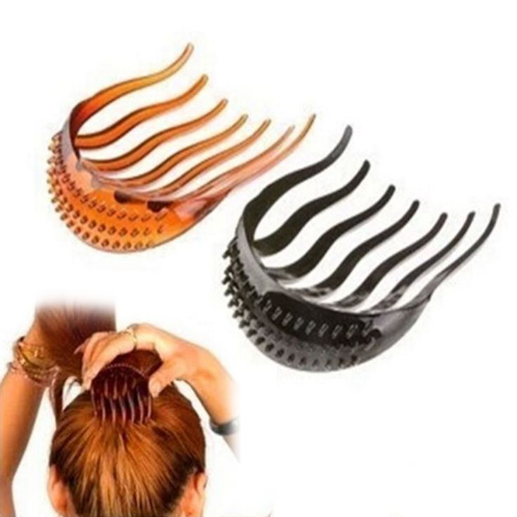 Knot clip Hoofddeksels Haarbanden Haar Styling Clip Stick Bun Maker Braid Tool Haar Styling Opgestoken Broodje Kam Clip Tool A2