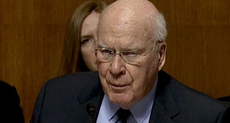 You Can't Run Forever': Sen. Patrick Leahy Puts Jeff Sessions on Notice that He Is Coming After Him
