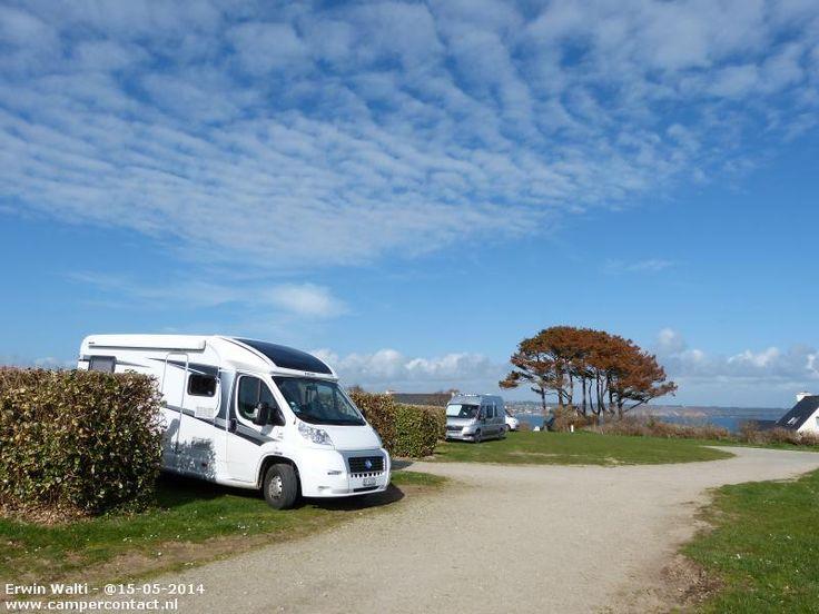 Camperplaats Plougonvelin - Aire de Camping-Car - Frankrijk