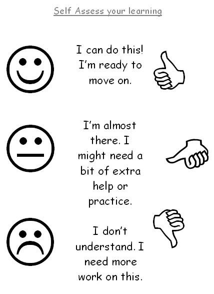 10 best self evaluation images on Pinterest 1st grades, Behavior - school self evaluation form
