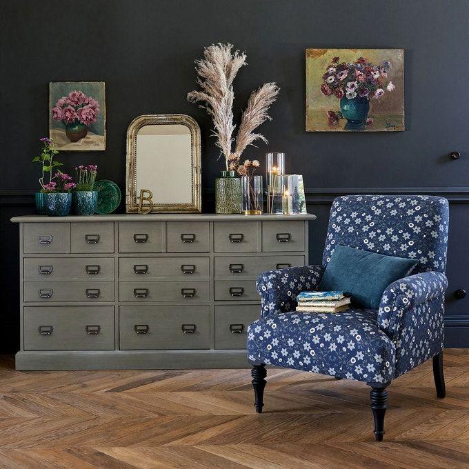Fauteuil Anglais Diane Meuble De Metier Mobilier De Salon Meuble Deco