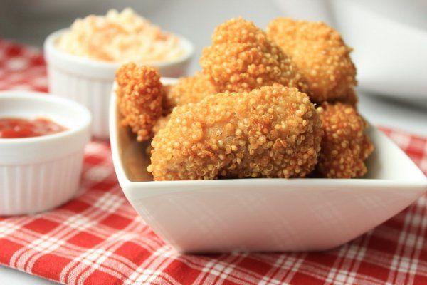 Gyors vacsora: ropogós csirkefalatok http://www.nlcafe.hu/gasztro/20150901/csirke-gyors-vacsora/