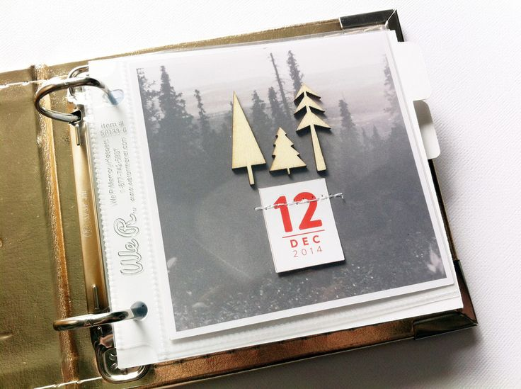 December Daily 2014, day 12 using an #instagram mini album | ChantalPhilippe at @studio_calico #decdaily