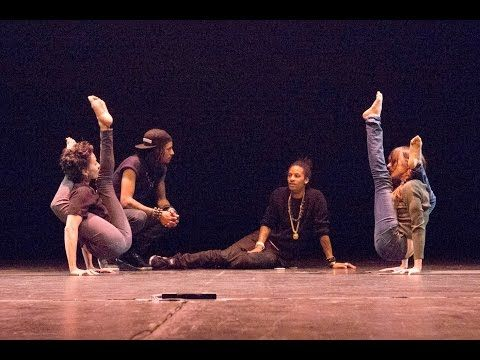 Les Twins working with Magnolia and Jess | City Dance Spring Onstage 2015 | Shot by Sandy Lee - YouTube