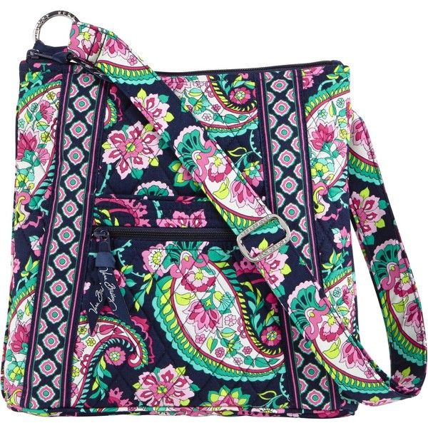 Vera Bradley Hipster Crossbody in Petal Paisley ($42) ❤ liked on Polyvore featuring bags, handbags, shoulder bags, petal paisley, crossbody shoulder bags, crossbody purse, vera bradley, hipster cross body purse and hipster handbags