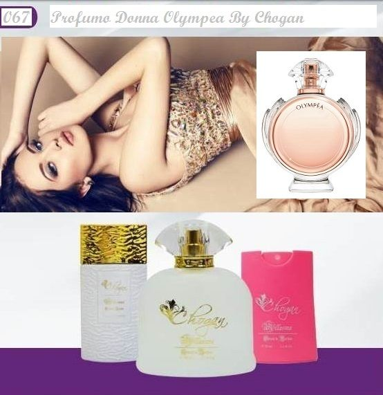 Profumo Donna 100 ml Olympea by Chogan cod.067