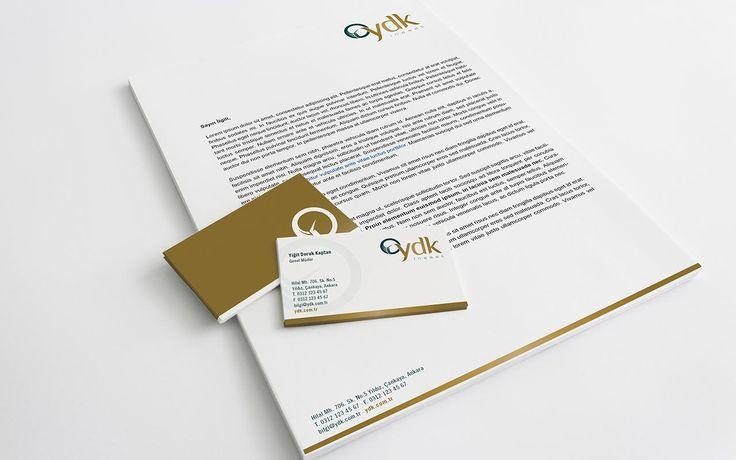 YDK İnşaat #logo ve #kurumsal kimlik tasarımı tamamlandı, bize de gururla beğenilerinize sunmak kaldı. #tasavvur #tasavvuret #iyitasarım #logodesign #corporateid #kurumsalkimlik #kartvizit #tasarım #zarf #antet #dosya #ankara #ajans #agency #graphicdesign #grafiktasarım #businesscard #letterhead #envelope #folder