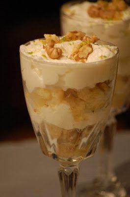 Onze Franse Keuken: Frisse Citroenmousse met walnotenkruim