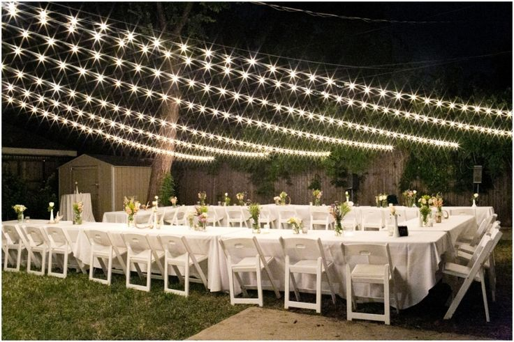 Country Back Yard Wedding Ideas