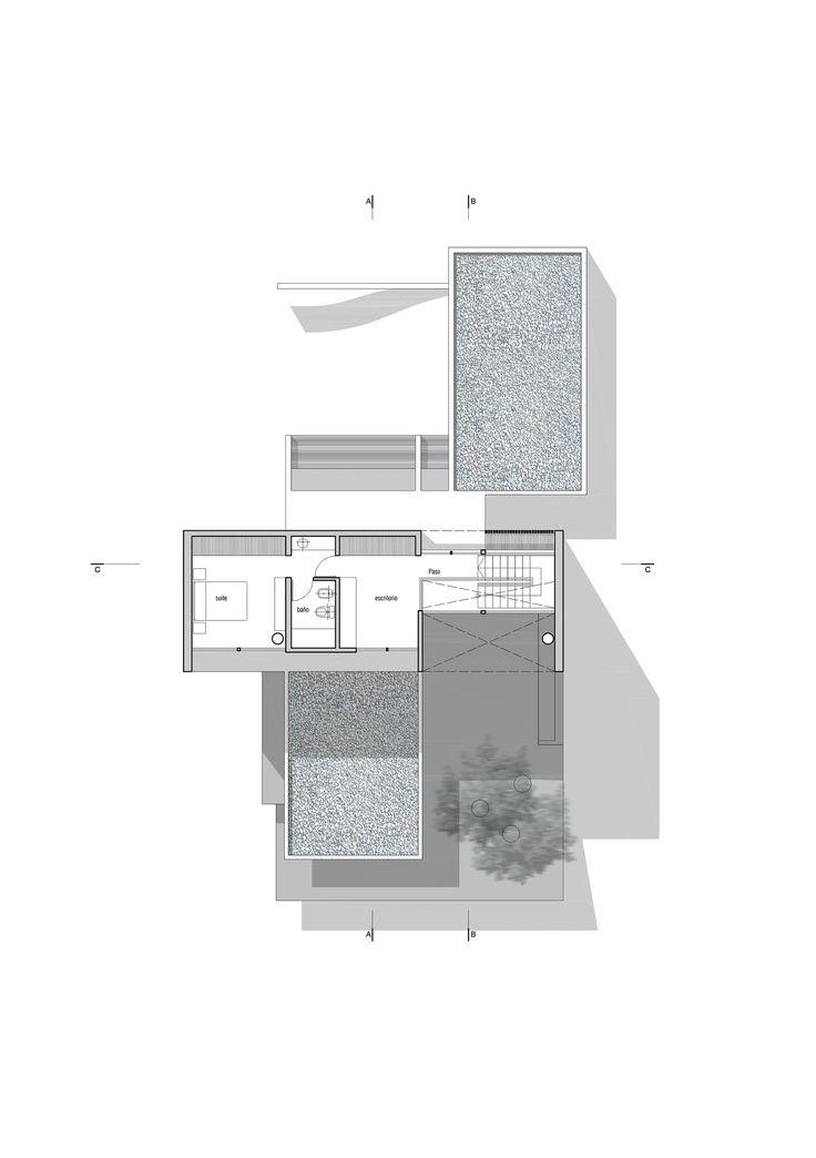 5451b7a6e58ece64010000a8lottersberger house estudio irigoyen navarro arquitectos02 plantaaltapng 2000 99 best Case unifamiliari