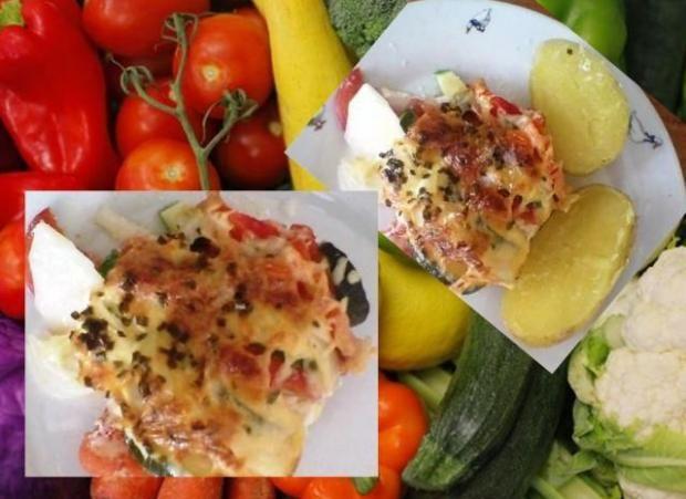 Zapekaná zeleninka s mozzarelou. - recept