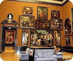 Kunsthistorisches museum. Fine arts. 10-6. Closed Mondays. 1 Maria theresien place