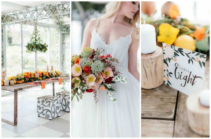 Citrus Wedding Ideas 3